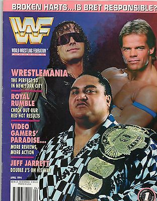 Wwf Magazine April 1994