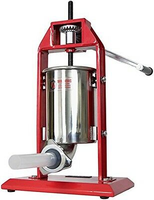 New VIVO Sausage Stuffer Vertical Stainless Steel 3L/7LB 5-7 Pound Meat Filler ~