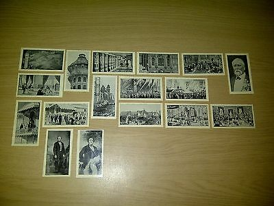 "17 x Hill ""Crystal Palace Souvenir Cards"" (glossy) in good to VG condition"