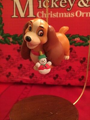 Lady And The Tramp Disney Grolier Christmas Magic Ornament