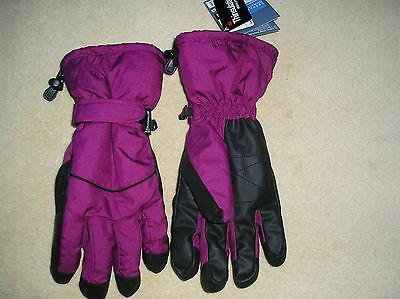 BNWT Ladies Thinsulate Isolant winter sports gloves 8.0 Snow and Freestyle