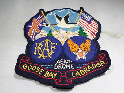 WWII RCAF USAAC US Army Air Corps Goose Bay Labrador Jacket Patch