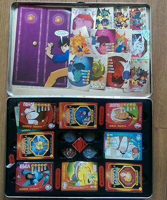 jackie chan adventures talismans and card set