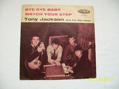 """7"""" Tony Jackson (Searchers), Bye Bye Baby, very rare in vg++ (ex) condition"""