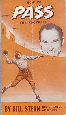 Bill Stern How to Pass the Football Published by Wonder Bread
