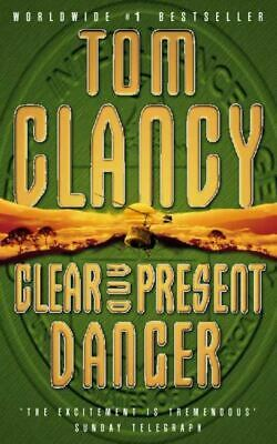 Clear and present danger by Tom Clancy (Paperback)
