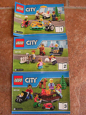 Lego City – 60134 INSTRUCTIONS ONLY - Fun in the Park