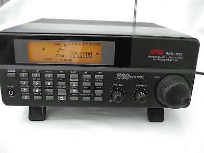 GRE PSR 225 500Channel Home Base Scanner with maual & antenna 25-1300mhz