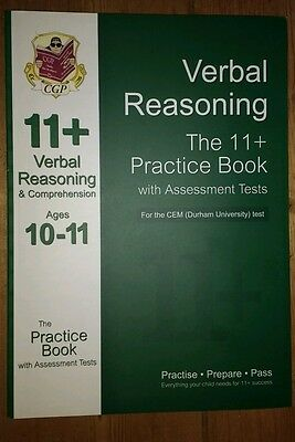 11+ Verbal Reasoning Practice Book with Assessment Tests (Ages 10-11) for the CE
