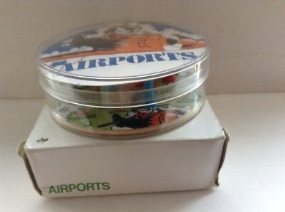 VINTAGE KELLOGG`S FROSTIES AIRPORTS GAME ~ Boxed