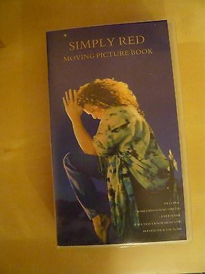Simply Red - Moving Picture Book  Music Video On Vhs.