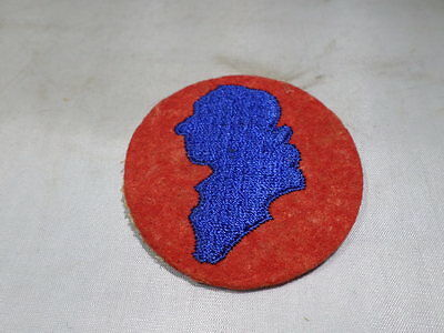 WWII VINTAGE US Army 11th Infantry Division Patch OLD STYLE