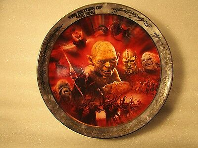 The Lord Of The Rings Reliving The Adventure The Return Of The King 7Th Plate