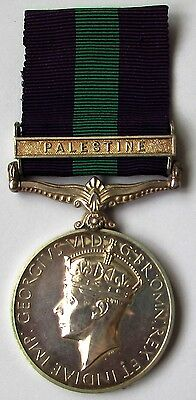 GSM 'Palestine' to Royal Northumberland Fusiliers