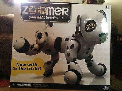 Spinmaster Zoomer Your Best Friend Dalmation Interactive Dog New Sealed In Box