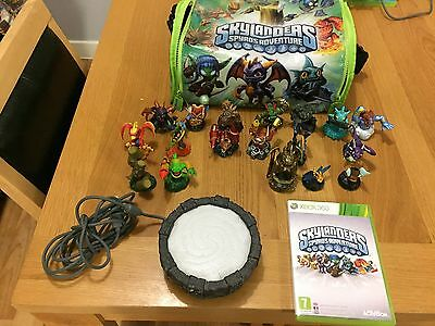 XBOX 360 SKYLANDERS Portal of Power Activision + Spyro's Adventure game + Figure