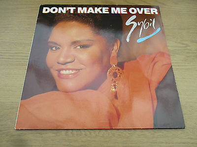 "SYBIL - DON'T MAKE ME OVER    Vinyl 12"" Germany 1989 Downtempo Disco   873 451 1"