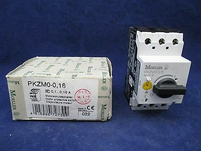 Moeller  Motor Protective Switch PKZM0-0,16 new