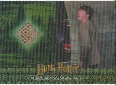 Harry Potter CHAMBER OF SECRETS World 3D RON WEASLEY C4 Costume Card #69