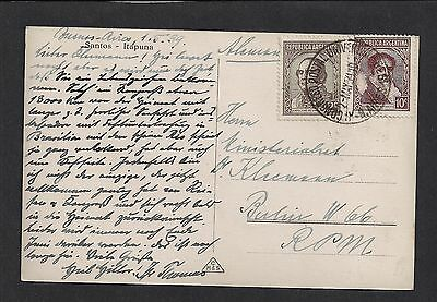 Argentina 1939 Picture Postcard Itapuna Buenos Aires - Berlin