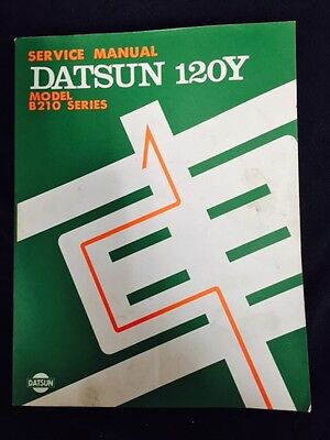 New Into Stock Datsun 120 Y Factory Workshop Manual SH