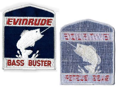 Evinrude Bass Buster Vintage Embroidered Patch