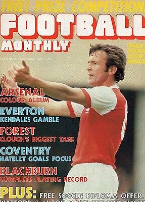 Football Monthly Vol 9 No 2 September 1982