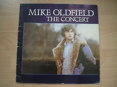 Mike Oldfield The Concert Programme