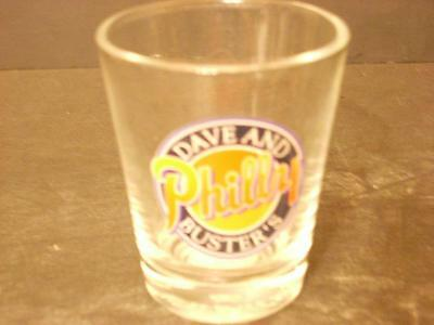Dave & Busters Philly Shot Glass (H9)