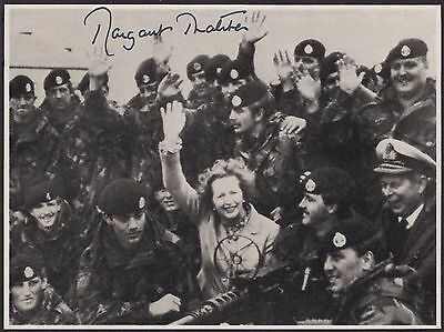 GB 1983 Margaret Thatcher Autograph Plus Authentic Letter From 10 Downing Street