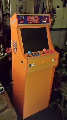 Donkey Kong Junior themed 2 player arcade cabinet, can be Bartop or Upright.