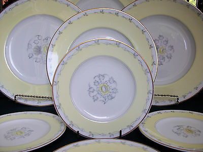 WEDGWOOD CYNTHIA  W3976 (c1950+) BREAD & BUTTER PLATE(s)- EXCELLENT! MINT! GILT!