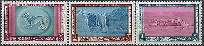 Afghanistan 1972 Stamps Buddha Carvings MNH