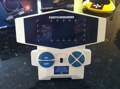 CGL Earth Invaders Computer Space Battle Game - VGC 1980's retro gift