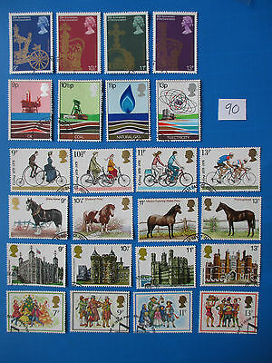 1978 GB Commemoratives: Complete year set (all sets ex-fdc)  #90