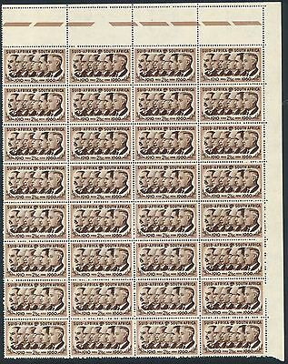 South Africa 1961 New Currency Definitive 2 1/2c Corner Block of stamps (**)