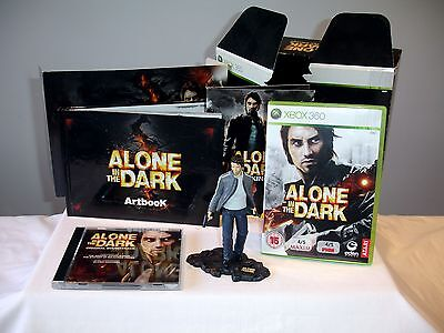 Xbox 360 Alone In The Dark Limited Edition Boxed Set Complete  Pal Uk 2008. Vgc
