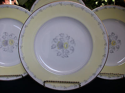 WEDGWOOD CYNTHIA  W3976 (c.1950-1962)- DINNER PLATE(s)- EXCELLENT!  GILT!