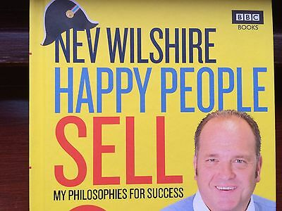 *NEW* BBC The Call Centre - Nev Wilshire - Happy People Sell - Funny Joke Book