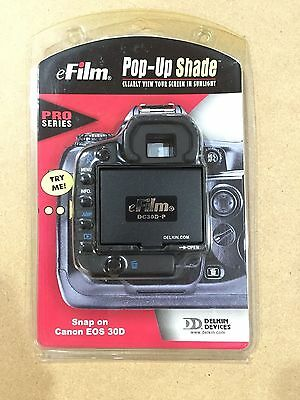 Delkin Devices Pop-Up Shade LCD Cover DC30D-P Canon EOS / 30D