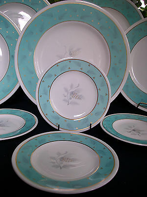 WEDGWOOD WESTOVER  W3981 c.1950's-BREAD & BUTTER PLATE(s)-EXCELLENT! MINT! GILT!