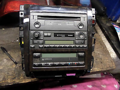 Mk4 Golf Gti Centre Console Cupholder Cd Changer Radio Heater Climatronic