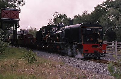 (407) Narrow Gauge - Welsh Highland Garrett 143 - 35mm Colour Slide