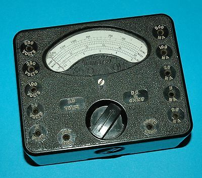 AVO universal Avominor + case + second one for spares vintage volt meter test