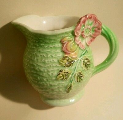 Vintage Cream Jug by Shorter & Son Staffordshire Hand Painted