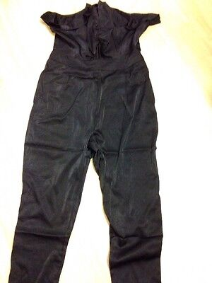 NWT Black Silky All In One Jumpsuit. Size M.