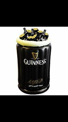 GUINNESS 1 x INFLATABLE BEER BUCKET - new in original poly wrap, unopened,