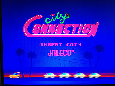City Connection By Jaleco  Arcade Pcb Jamma Bootleg