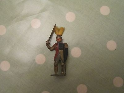 Early Timpo Knight Lead Figure.