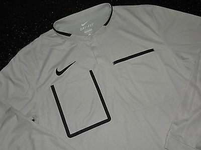Nike Premier League Referee Shirt - L - LS Putty